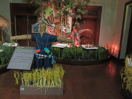 Learn about traditional Thai village life at the Museum of Siam in Rattanakosin, Bangkok, Thailand.