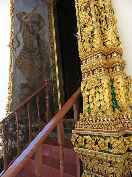 Wat Ratchanaddaram in Phra Nakhon, Bangkok, Thailand.