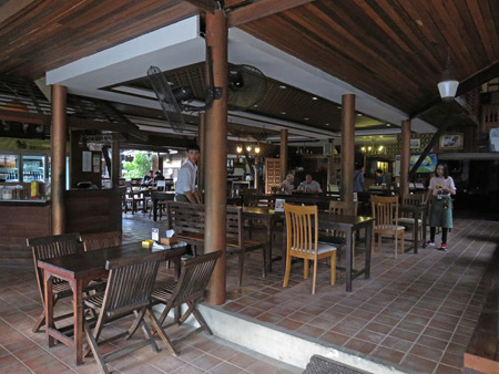 Tony's Place in Ayutthaya, Thailand.