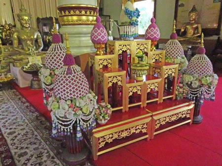 Wat Phra Singh in Chiang Mai, Thailand.