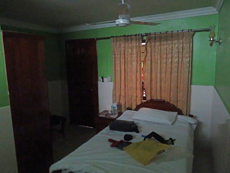 My room at the Jasmine Guesthouse in Siem Reap, Cambodia.