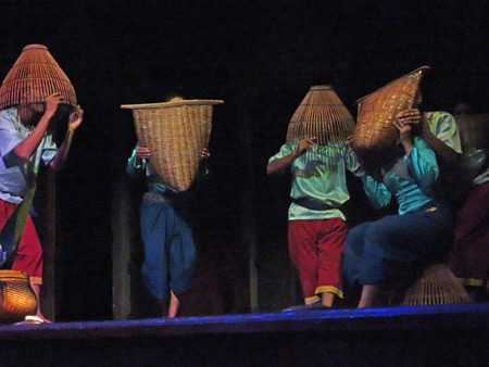 The Fisherman's Dance at the Apsara Theater in Siem Reap, Cambodia.
