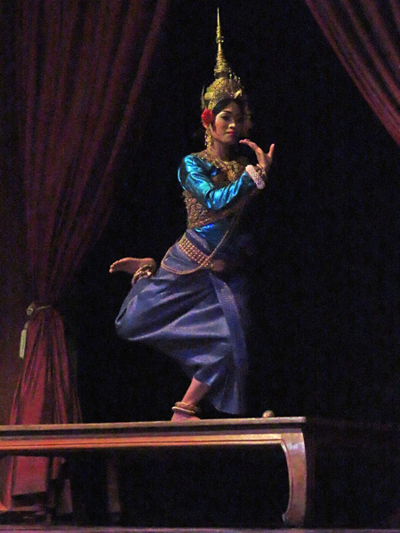 The Mekbala Dance at the Apsara Theater in Siem Reap, Cambodia.