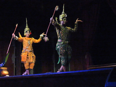 The Legend of the Reamker at the Apsara Theater in Siem Reap, Cambodia.