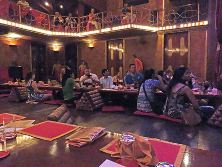 The audience at the end of the show at the Apsara Theater in Siem Reap, Cambodia.