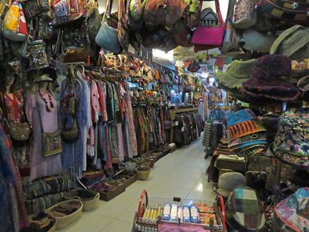 A shop for hippies on Thanon Khao San in Banglamphu, Bangkok, Thailand.