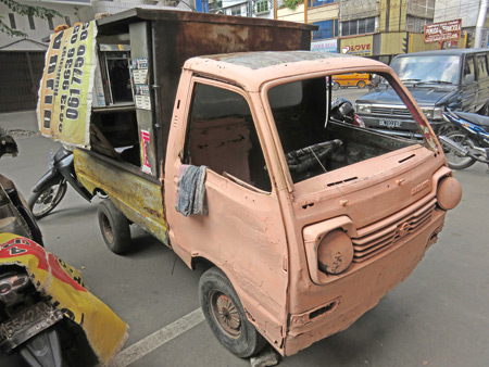 That's quite an attractive truck you have there in Medan, Sumatra, Indonesia.