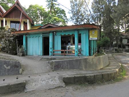 A small shop in Tuk Tuk, Danau Toba, Sumatra, Indonesia.