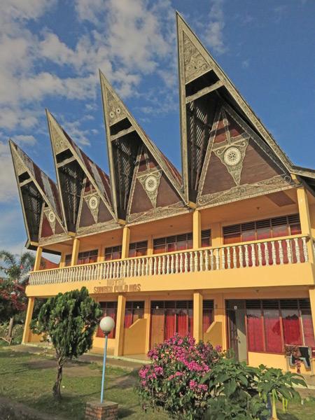 Hotel Sumber Pulo Mas in Tuk Tuk, Danau Toba, Sumatra, Indonesia.