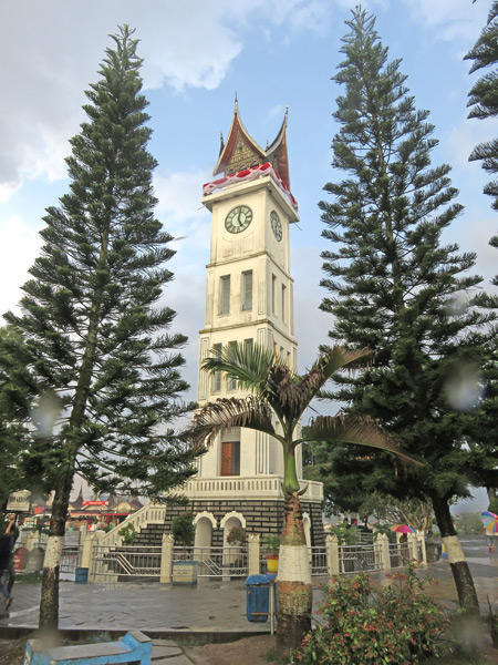 The Clocktower in Bukittinggi, Sumatra, Indonesia.