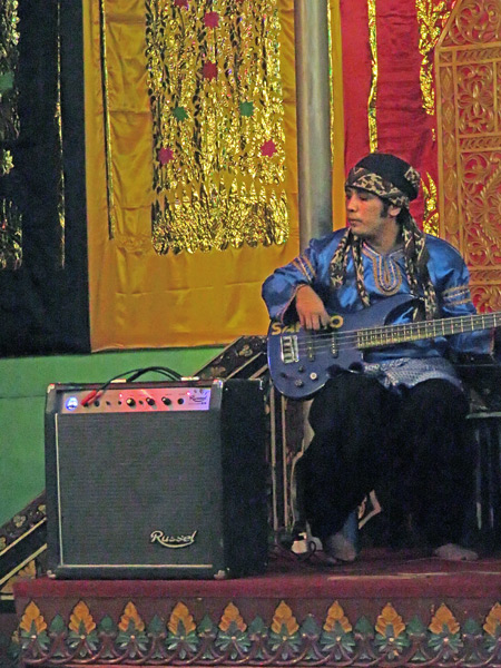 The Sakato Group performs at Medan Bapaneh in Bukittinggi, Sumatra, Indonesia.