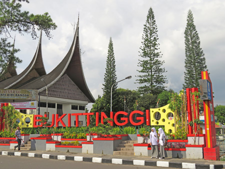 Welcome to Bukittinggi, Sumatra, Indonesia.