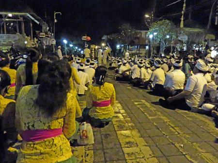 Rangda holds court at the intersection of Jalon Raya Ubud and Jalon Suweta in Ubud, Bali, Indonesia.