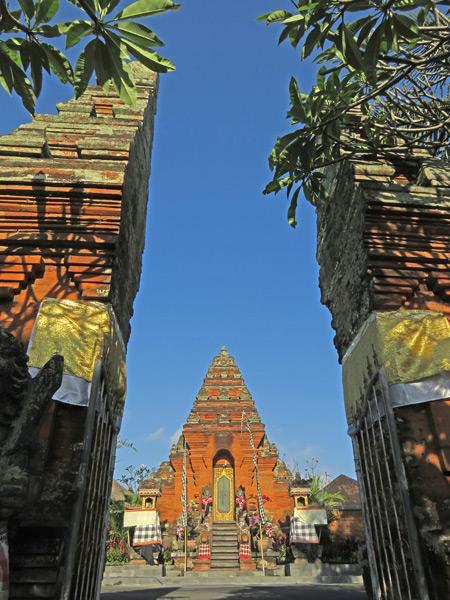Pura Padang Kerta on Jalon Hanoman in Ubud, Bali, Indonesia.