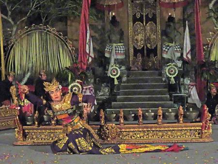 Gunung Sari performs the Kebyar Trompong at Puri Agung Peliatan in Peliatan, Bali, Indonesia.