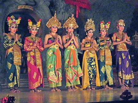 Sanggar Pondok Pekak at Bale Banjar Ubud Kelod in Ubud, Bali, Indonesia.