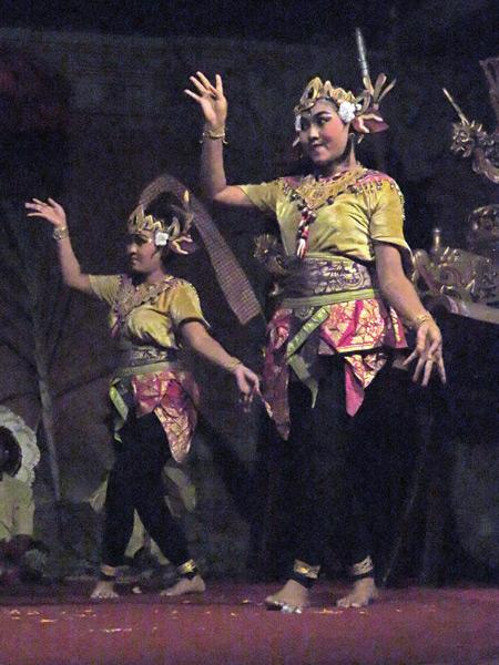Suara Sakti performs the Mekepung dance in Bentuyung, Bali, Indonesia.