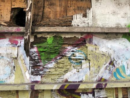 A distressed wall in Casco Viejo, Panama City, Panama.