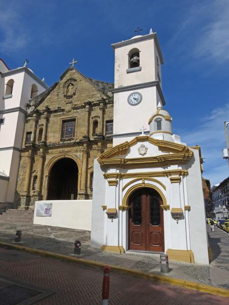 La Iglesia de la Merced in Casco Viejo, Panama City, Panama.