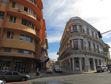 A little Spanish colonial architecture in Casco Viejo, Panama City, Panama.