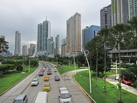 Downtown Panama City, Panama.