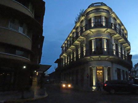 Spanish colonial architecture in Casco Viejo, Panama City, Panama.