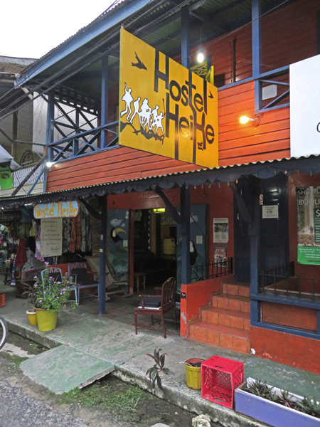 Hostel Heike in Bocas del Toro, Panama.