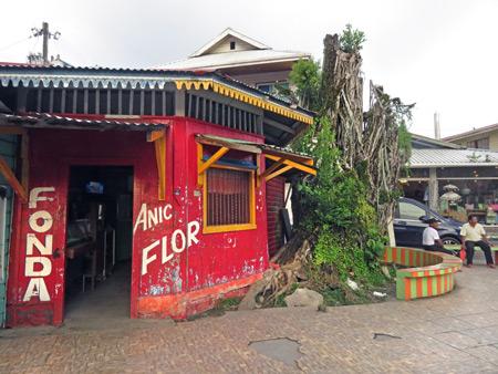 Fonda Anic Flor in Bocas del Toro, Panama.