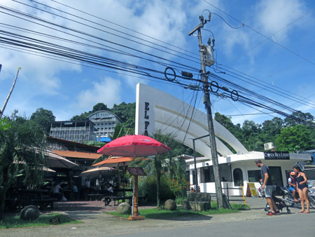 A couple of resorts near Manuel Antonio National Park, Costa Rica.