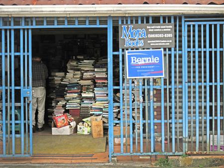 Mora Books in San Jose, Costa Rica.