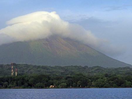 Volcano Concepcion on Isla de Ometepe in Lake Nicaragua.