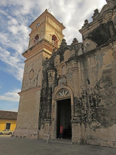 Iglesia La Merced in Granada, Nicaragua.