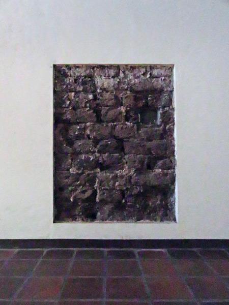 Unintentional installation art the Iglesia San Francisco in Granada, Nicaragua.