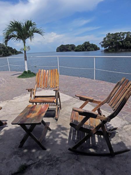 Kick back on Rock Island in Las Isletas de Granada, Nicaragua.