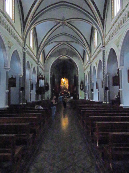 Capilla Maria Auxiladora in Granada, Nicaragua.