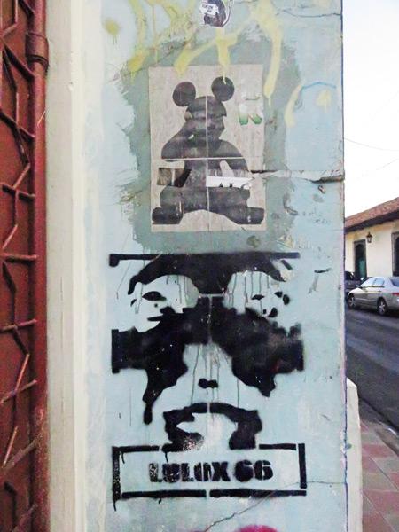 Street art in Leon, Nicaragua.