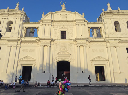 The Cathedral of Leon, Nicaragua.
