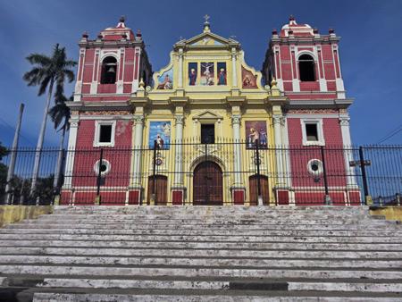Iglesia El Calvario in Leon, Nicaragua.