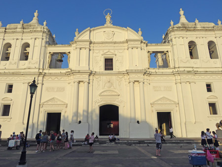 The Cathedral de Leon, Nicaragua.
