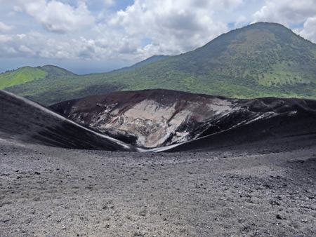 Another crater at the top of Cerro Negro, Nicaragua.