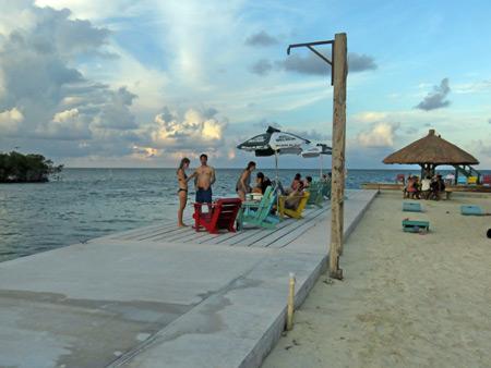 The Split in Caye Caulker, Belize.