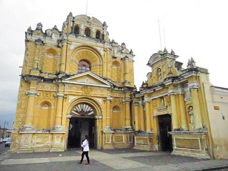 Iglesia San Pedro Apostol in Antigua, Guatemala.
