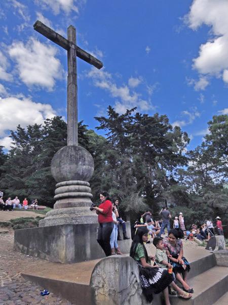 Cerro de la Cruz in Antigua, Guatemala.