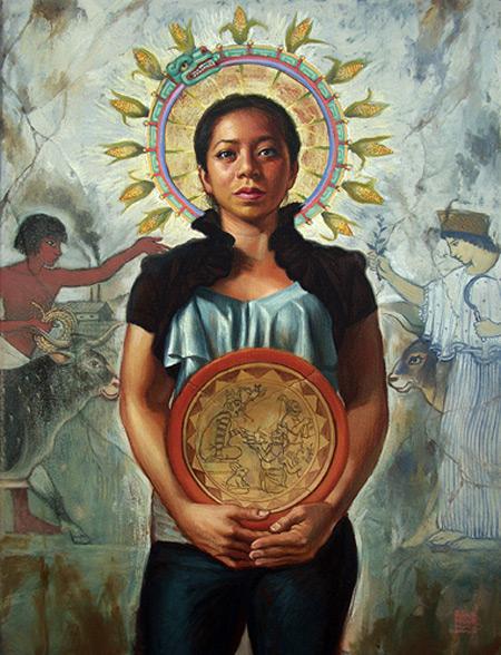 The Plate by Patrick McGrath Muñíz at La Antigua Galerie de Arte in Antigua, Guatemala.