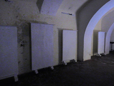 Unintentional minimalism at Museo Santiago de los Caballeros in Antigua, Guatemala.