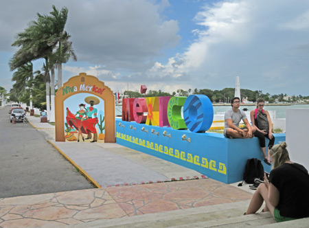 Welcome to Chetumal, Mexico.