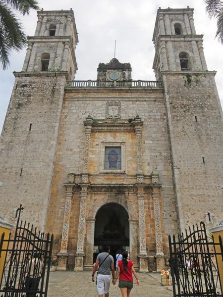 Iglesia de San Servacio in Valladolid, Mexico.