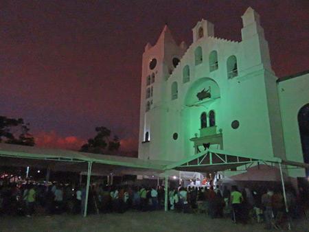 A wedding at the Catedral de San Marcos in Tuxtla Gutierrez, Mexico.