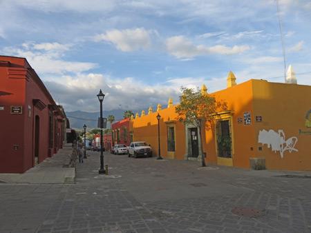 A beautiful sunset in Oaxaca City, Mexico.