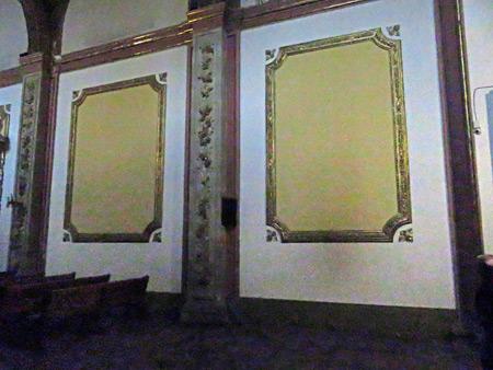 Unintentional minimalism inside the Catedral de Nuestra Señora De La Asunción in Oaxaca City, Mexico.